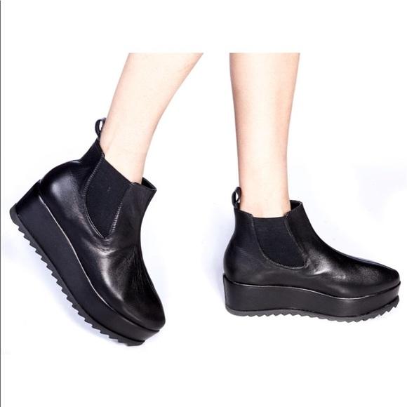 ee22f03b5ddf UNIF Black Hellsea Boots. M 5b5f4c79fb38033575484e03
